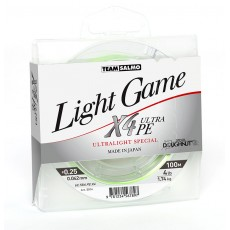 Шнур Team Salmo LIGHT GAME X4 ULTRA PE (0,051)